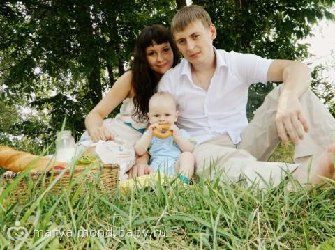 семейные фото на природе