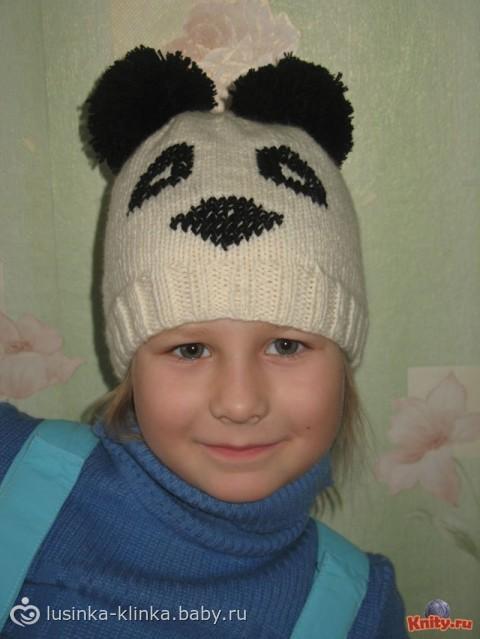 Шапочка... шапка панда - Самое интересное в блогах - LiveInternet.Ru Метки: вязание вязание на спицах вязание спицами