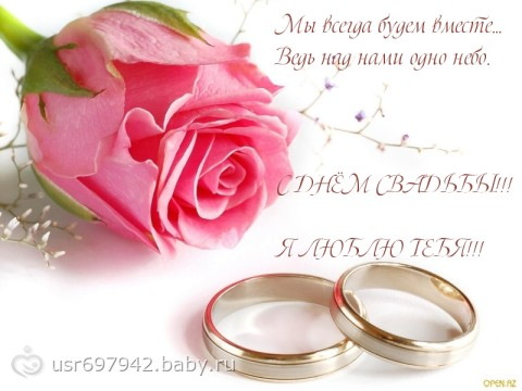 Годовщина свадьбы-2года - на бэби.ру