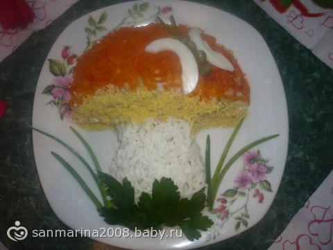 Оформление салатов на бэби ру