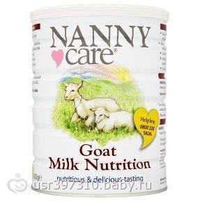 Смесь на основе козьего молока NANNY. - на бэби.ру