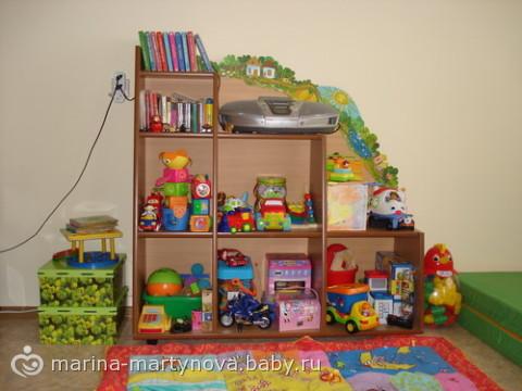 Детская полка для игрушек своими руками