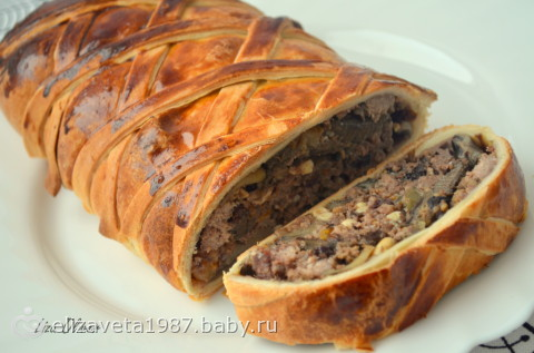 Слоеное мясо рецепт фото