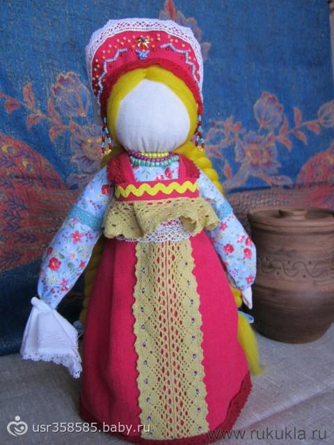 Русская народная игрушка своими руками фото