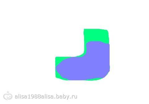 Носочки детские, спицами (ОНЛАЙН)