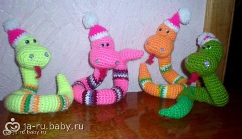 мои змейки)