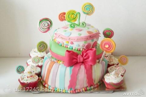 Кто печёт торты и украшает мастикой красиво?