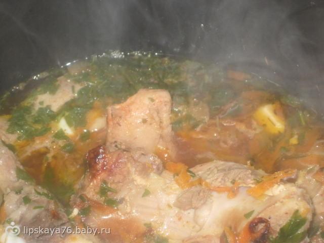 Свинина на хрящах рецепт приготовления с картошкой