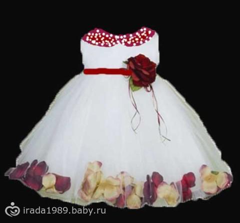 Платье на 1 годик доче!