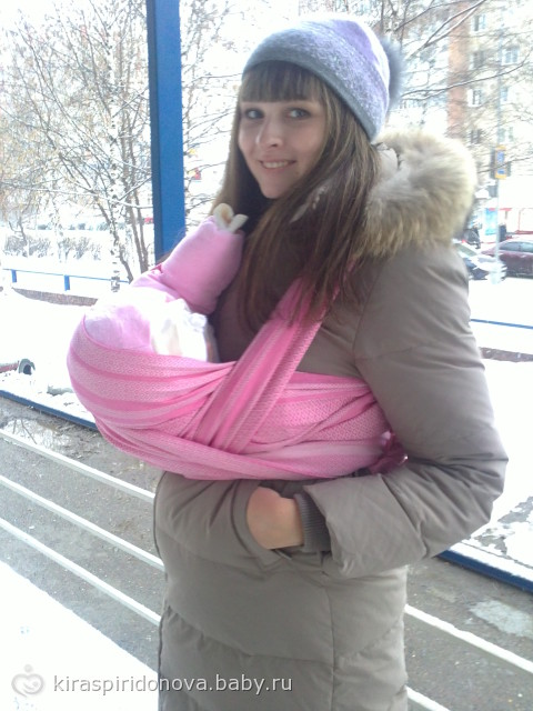 С мамой уютно и тепло!