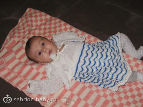 Рианочке три месяца