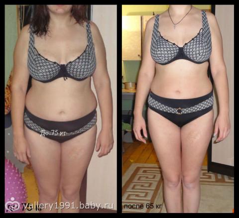 похудение на 10 кг за 3 месяца