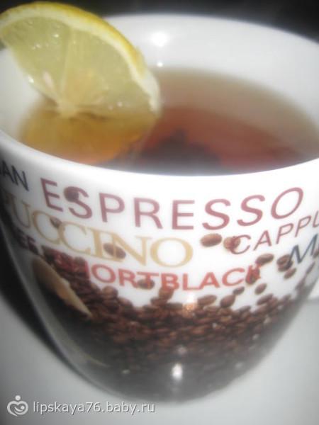 Холодный чай с имбирным корнем