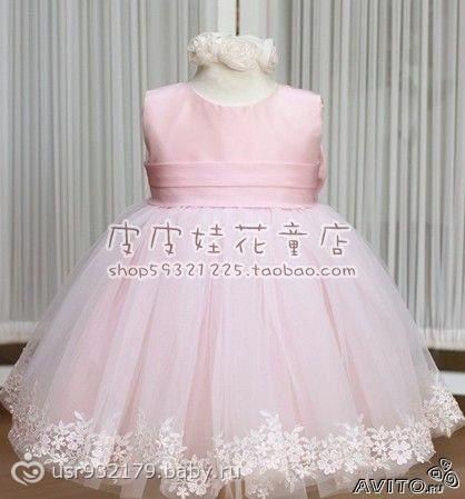 Как сшить платье на девочку 1 годик