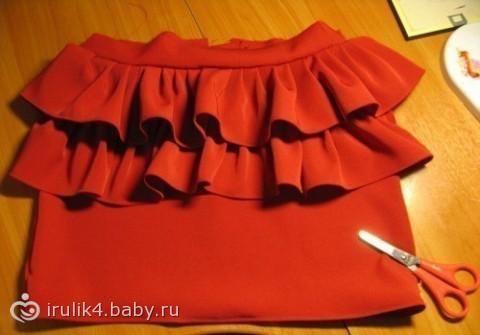 Как сшить модную юбку брюки фото 391