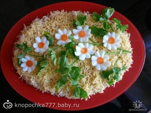 Оформление и рецепты салатов с фотографиями