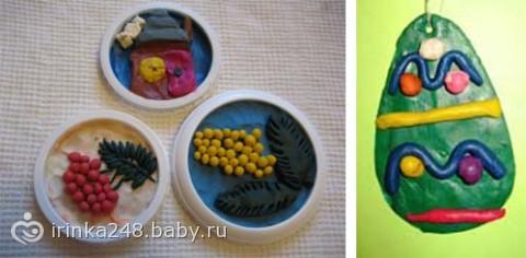 Барельеф в творчестве детей 5-7 лет