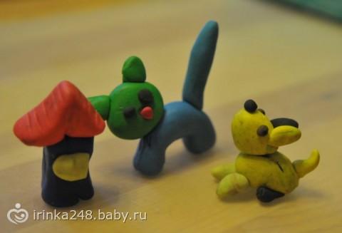 Чем занять ребенка в 2 года: лепка из пластилина для