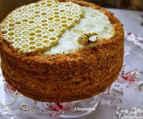 рецепты торта медовик фото