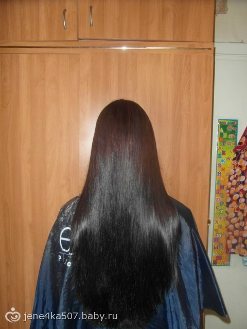 На сколько вырастают волосы в год