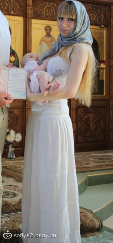 Платье для церкви на крещение