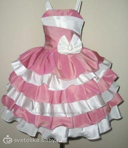 Платье на годик.своими руками