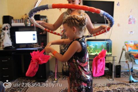 Сценарий на день рождения на 7 лет девочке