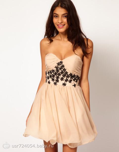 Платья бандо с чем носить