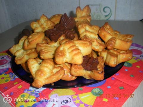 печенье в маленьких силиконовых формочках рецепты