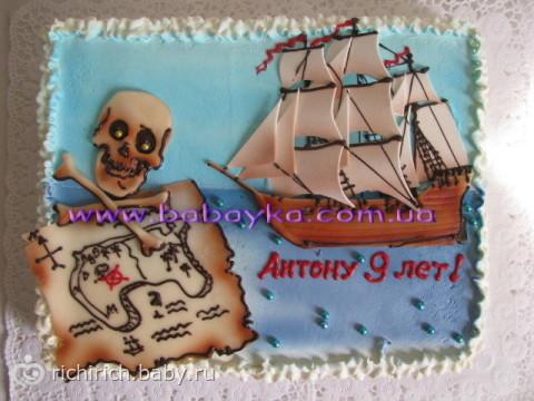 День рождения на Пиратском стиле. Идеи празднования равно коллекция в целях проведения вечеринки) (с фото)