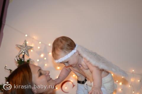 Наша первая Новогодняя фотосессия