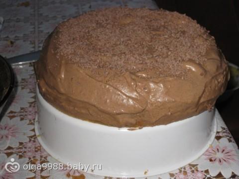 шоколадный торт в мультиварке рецепт с