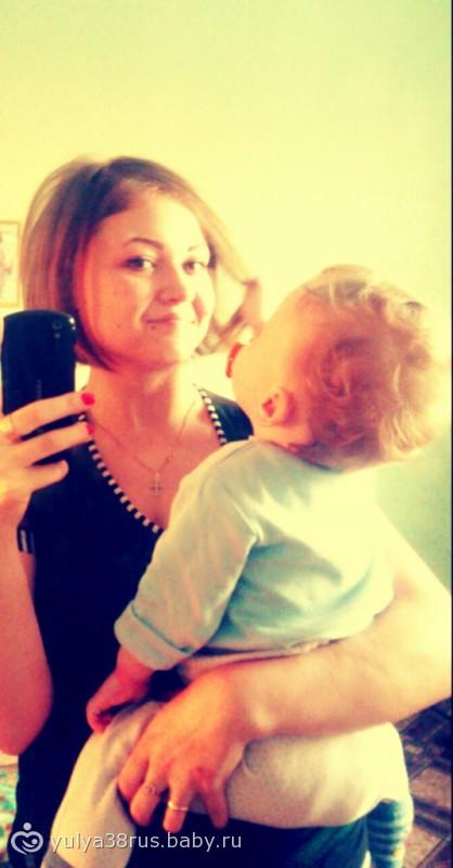 Фото девушку с ребенком