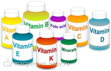 Витамины после беременности и родов