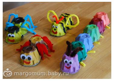 Идеи необычных поделок для детей