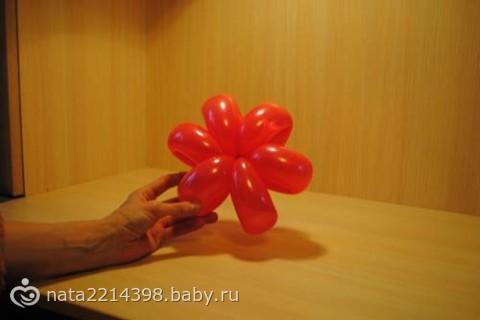 Мастер-класс. Цветок из воздушных шаров.