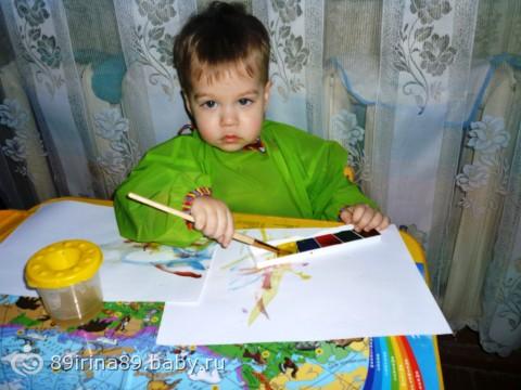 Наш маленький художник