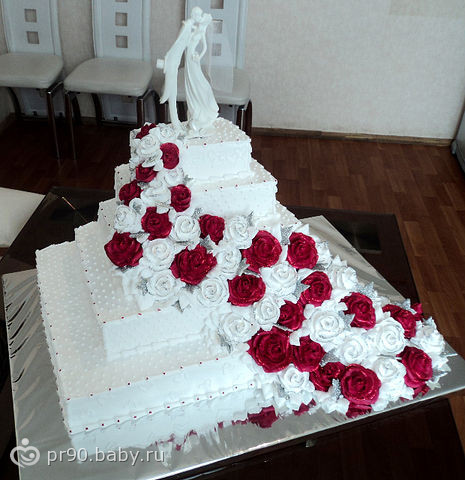 Свадебные торты в тюмени фото