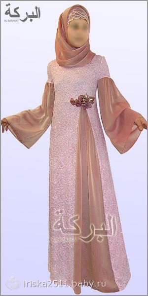 Как сшить платье мусульманское