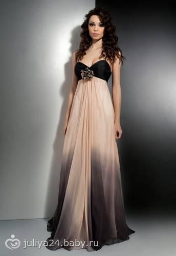 платья вечерние в пол фото