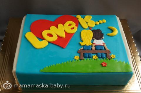 Торты love is фото