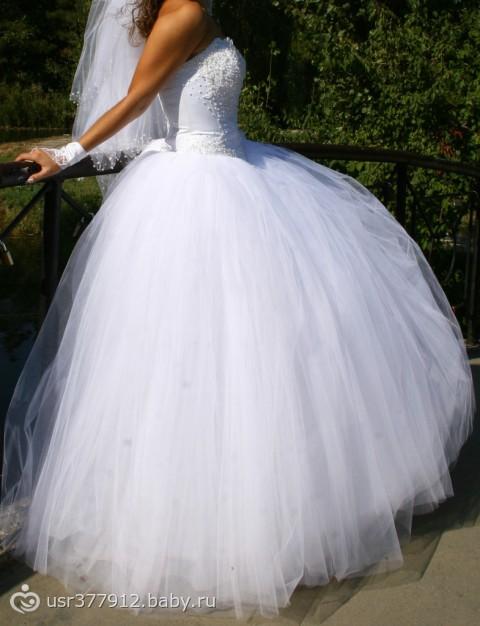 9 колец свадебное платье