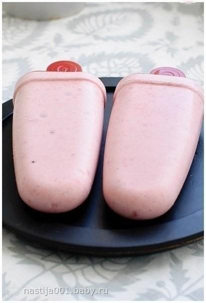 """""""Домашнее бананово-клубничное мороженое"""""""