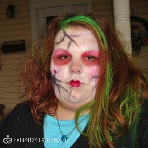 Я на хэллоуин !!!!!