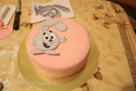 Как сделать украшение из мастики для торта в домашних 22