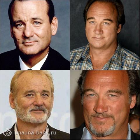 А эти два актёра похожи ? )))