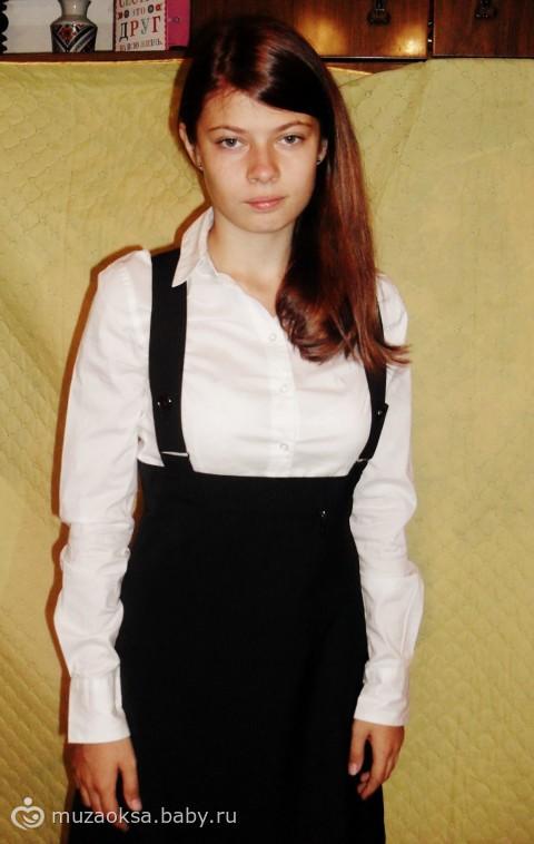 Блузка просто