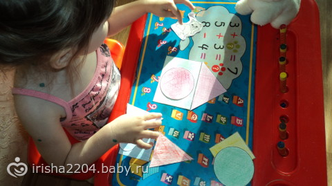 Занятия для ребенка 3-х лет наш опыт с фото