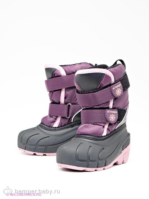 В какой зимней обуви дети не косолапят?