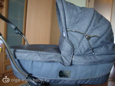 продам коляску для новорожденного Bebecar Stylo Class (эко-кожа)